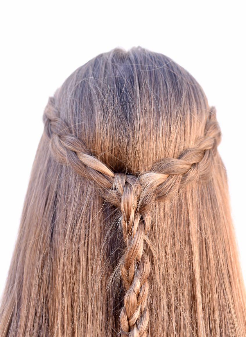 Most Recent Half Up, Half Down Braid Hairstyles Pertaining To Braided Half Up Half Down Tutorial {easy + Looks Great} (View 13 of 20)