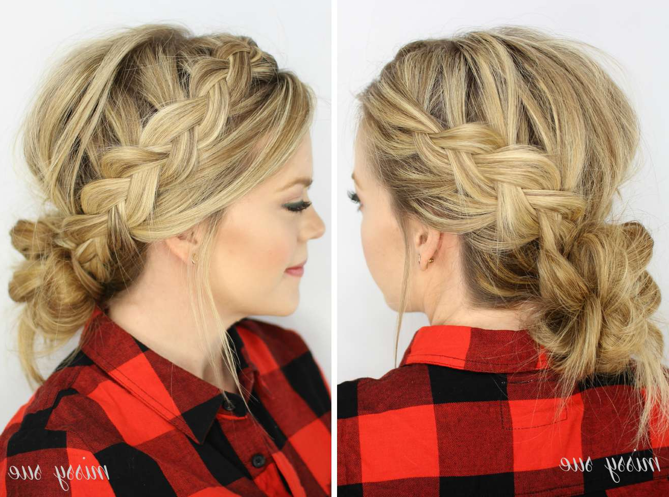 Most Recent Messy Mermaid Braid Hairstyles Within Braided Hairstyles For Weddings (View 14 of 20)