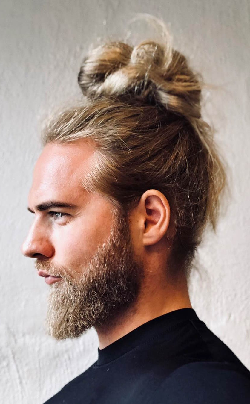 Most Recent Mini Buns Hairstyles Intended For 7 Types Of Man Bun Hairstyles (View 9 of 20)