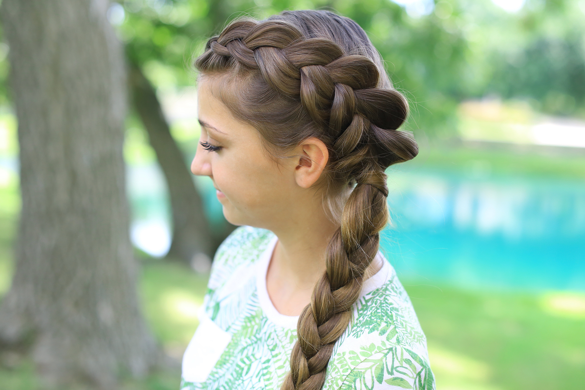 Most Recent Side Dutch Braided Hairstyles Throughout Side Dutch Braid Combo (View 4 of 20)
