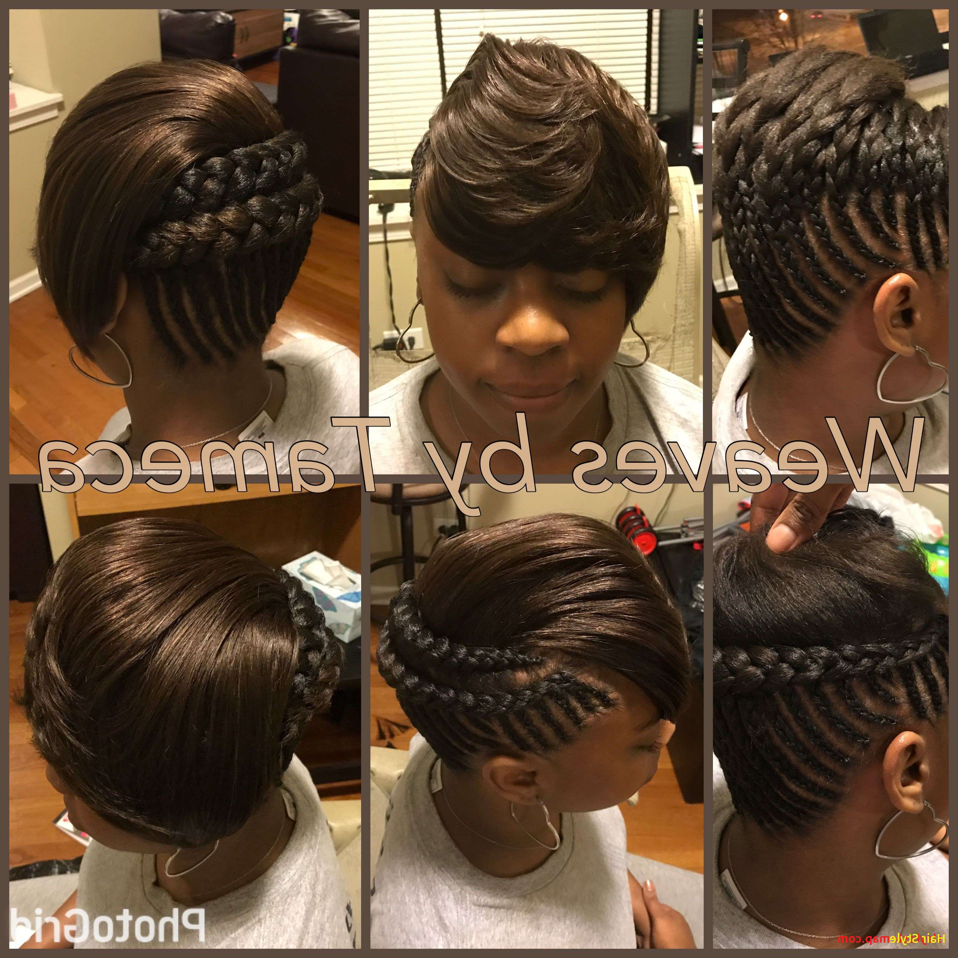 Most Recent Side Parted Braided Bob Hairstyles Throughout Spectacular Beautiful Weave Bob Hairstyles With Side Part (View 16 of 20)