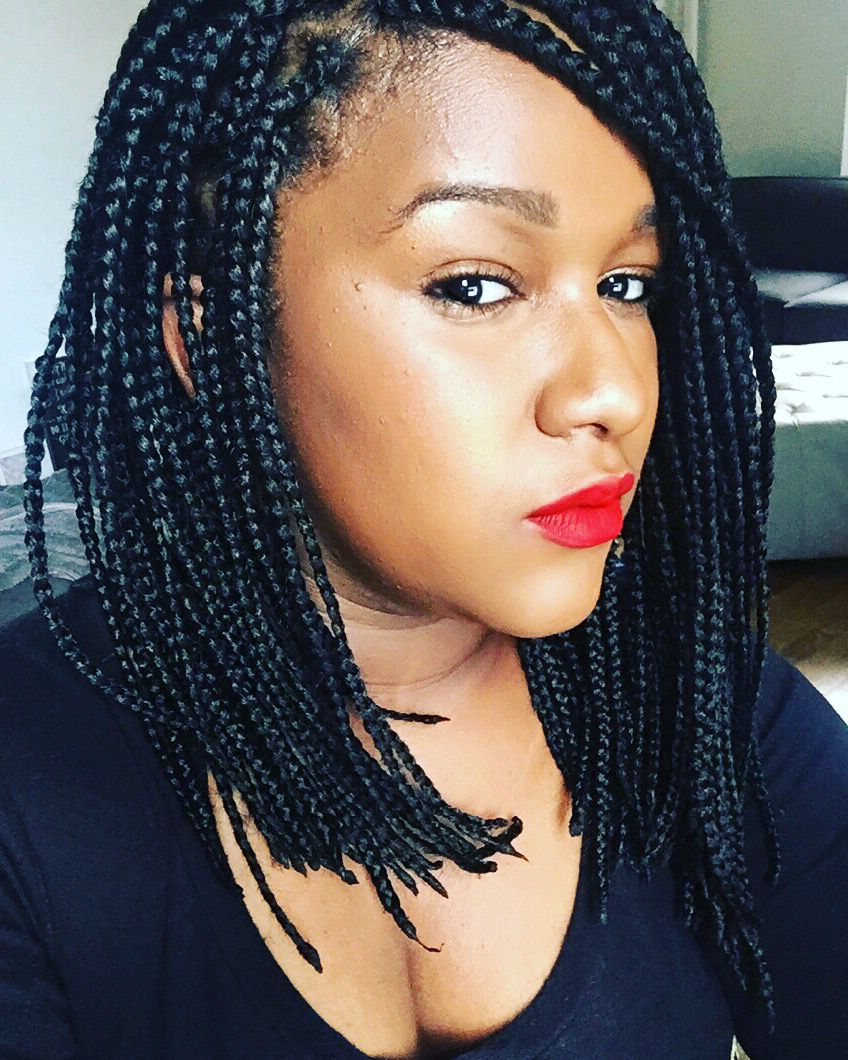 Featured Photo of Twisted Lob Braided Hairstyles