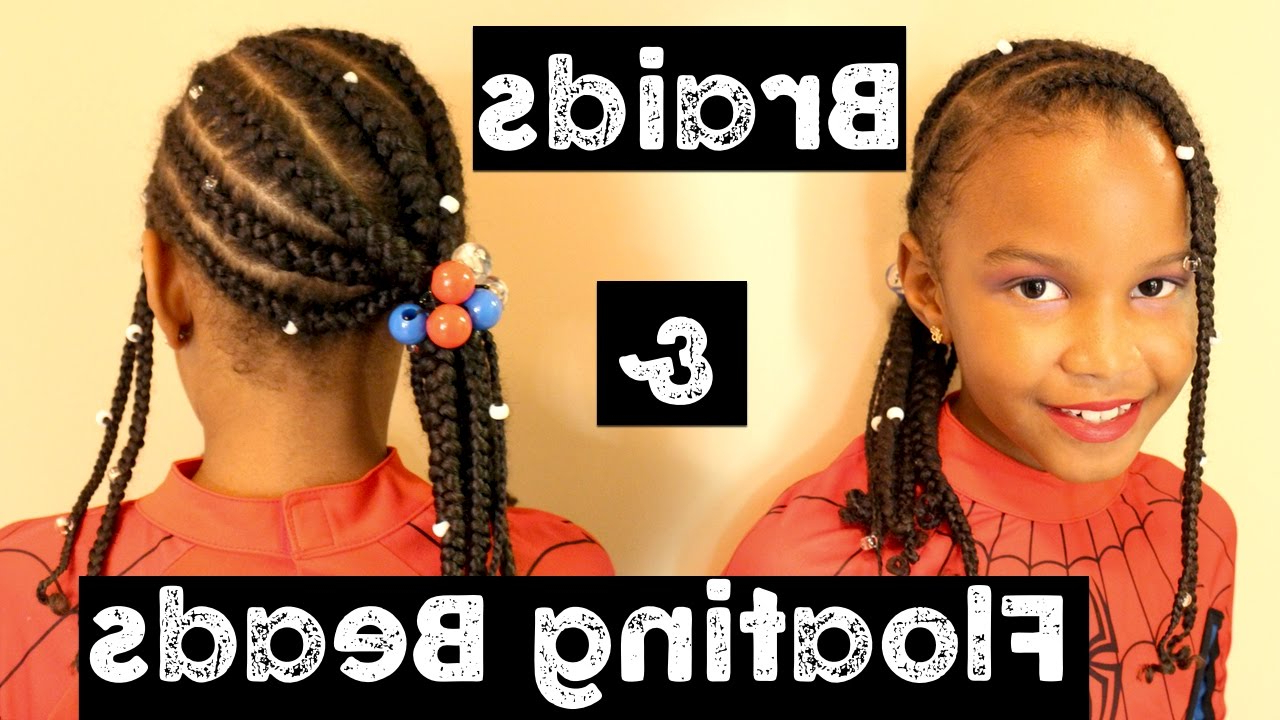 Most Recently Released Beaded Pigtails Braided Hairstyles Intended For Braids & Floating Beads (View 10 of 20)