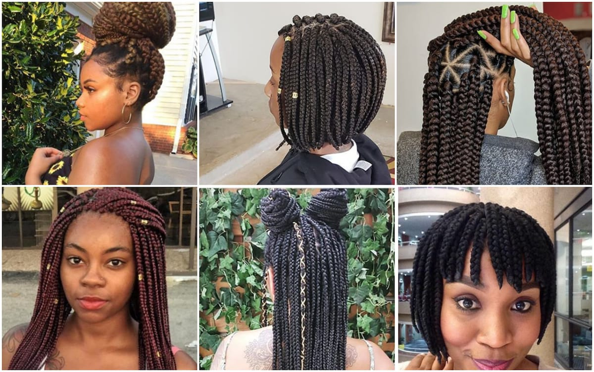 Most Recently Released Bob Braid Hairstyles With Bangs For Braids Bob Hairstyles 2017\ (View 4 of 20)