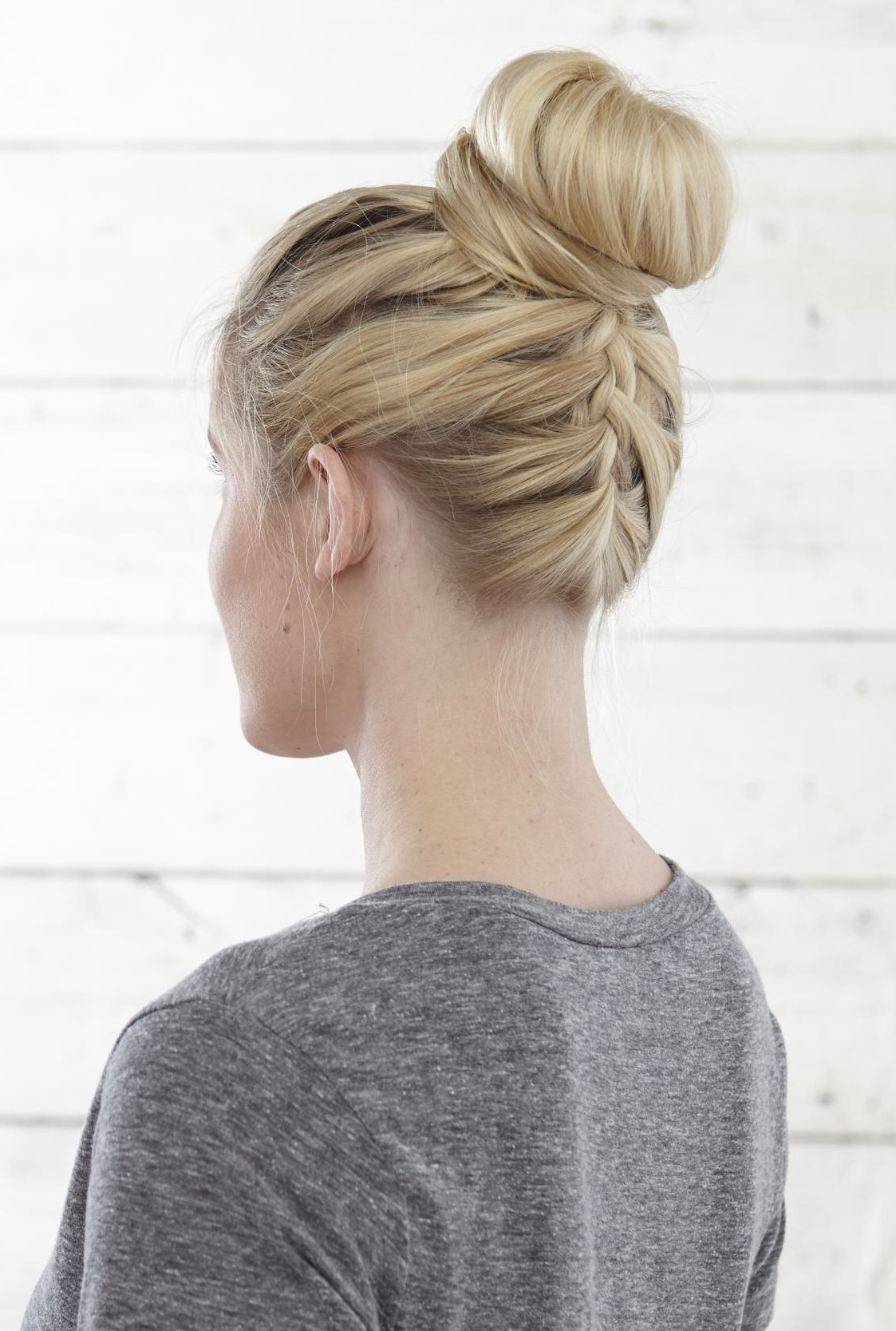 Most Recently Released Braided Chignon Hairstyles In 50 Fabulous French Braid Hairstyles To Diy – More (View 16 of 20)