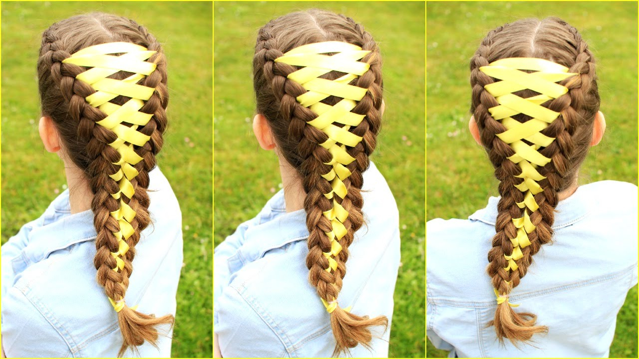 Most Recently Released Corset Braided Hairstyles Intended For Diy Corset Braid Hair Tutorial (View 11 of 20)