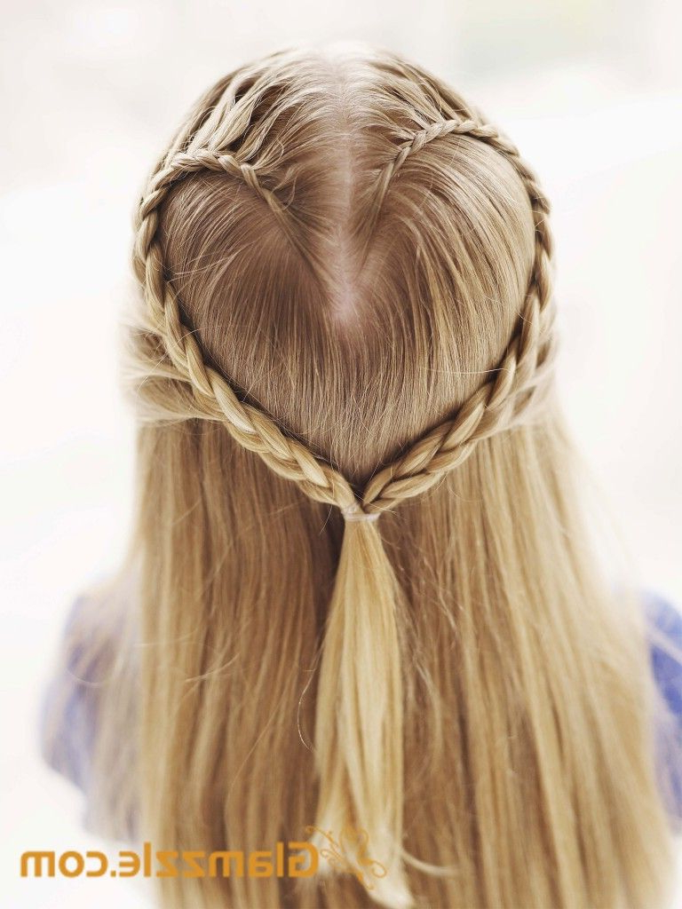 Most Recently Released Heart Shaped Fishtail Under Braid Hairstyles For Heart Shaped /messy Side Braid/side Dutch Braid/waterfall (View 18 of 20)