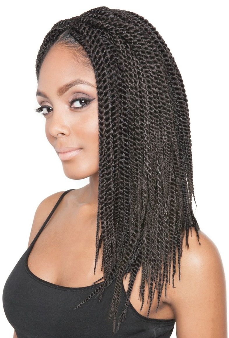 Most Recently Released Long Twists Invisible Braids With Highlights Intended For Isis Faux Remi Crochet Braid Senegalese Twist 14 Inch (View 14 of 20)
