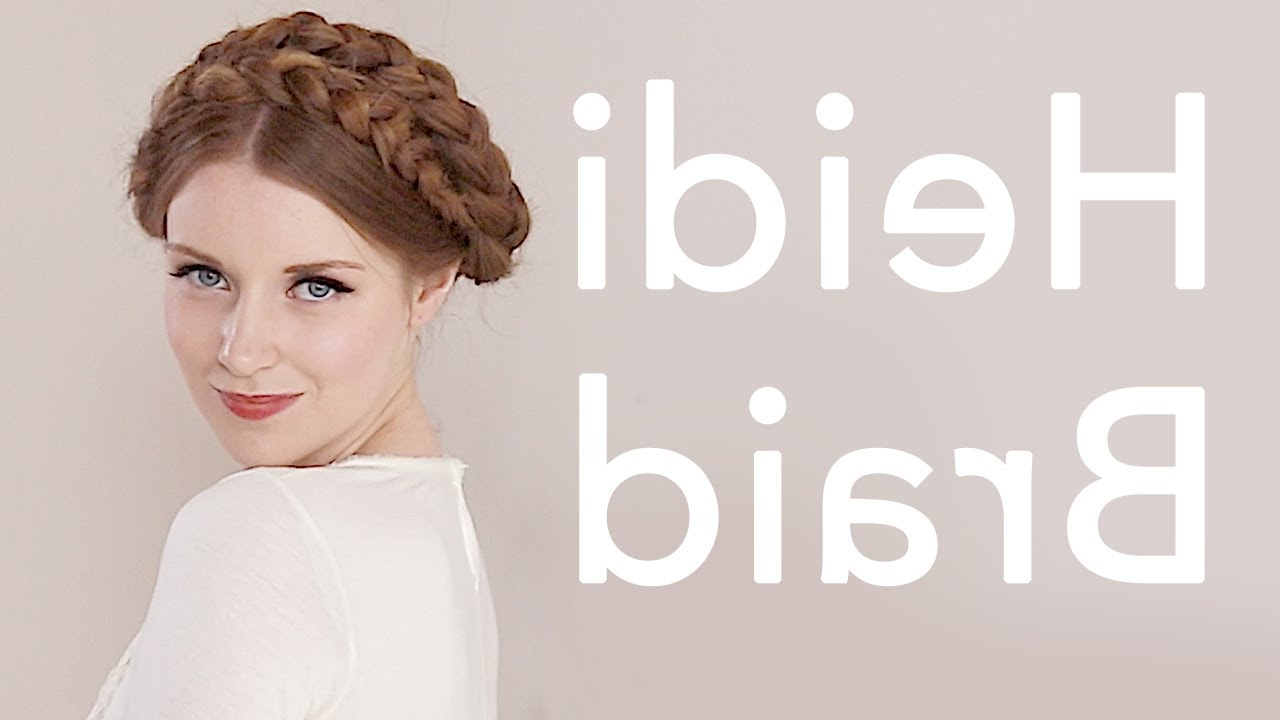 Most Recently Released Milkmaid Crown Braided Hairstyles Regarding Milkmaid Braids / Crown Braids Hairstyles (View 16 of 20)