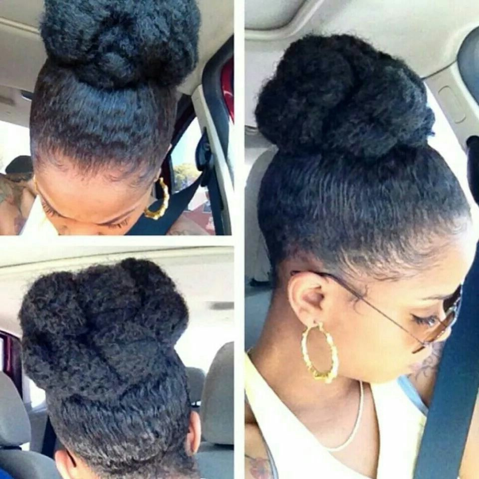 Most Recently Released Natural High Ponytail Updo Hairstyles Within Black Hair Growth Pills That Work – Buy Them Or Make Your (View 13 of 20)