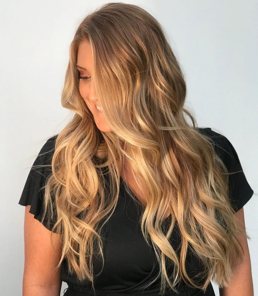 Most Recently Released Red And Yellow Highlights In Braid Hairstyles Inside 25 Prettiest Hair Highlights For Brown, Red & Blonde Hair In (View 17 of 20)