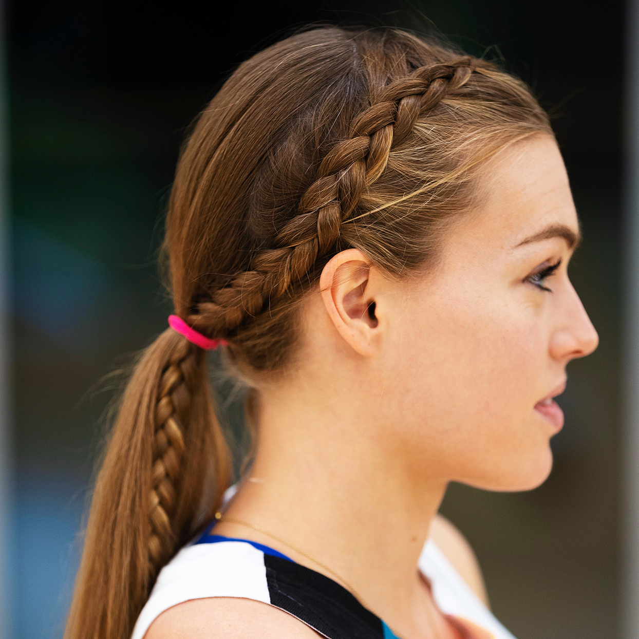 Most Recently Released Side Pony And Raised Under Braid Hairstyles Regarding Sweat Tested Braided Hairstyles For Running From Colleen (View 4 of 20)
