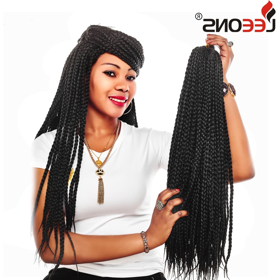 Most Recently Released Straight Mini Braids With Ombre With Regard To Leeons Crochet Braids Small Box Braids Hair Extensions Ombre (View 15 of 20)