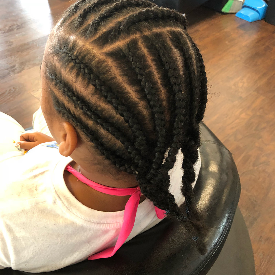Most Recently Released Tight Black Swirling Under Braid Hairstyles Within 162 Banging Braid Hairstyles To Try (View 9 of 20)