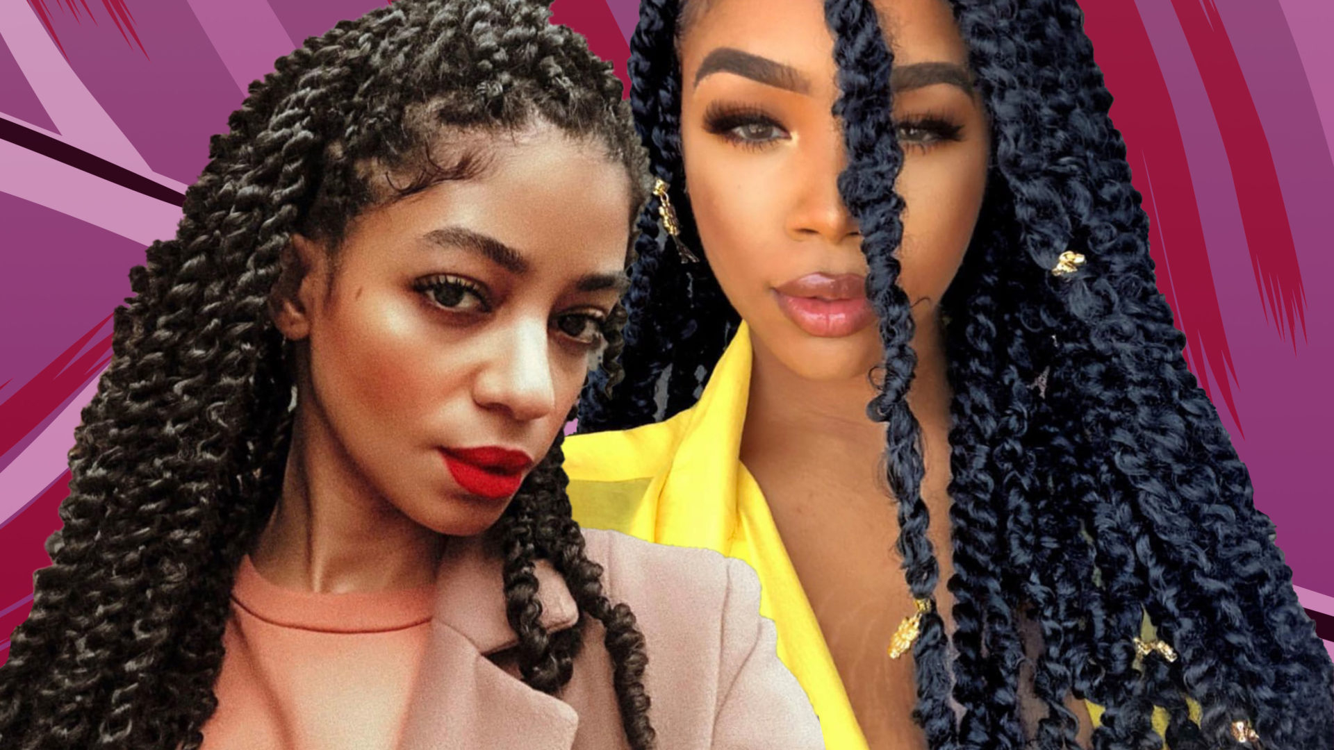 Most Recently Released Twists And Braid Hairstyles Within 10 Passion Twist Styles To Rock Right Now – Essence (View 14 of 20)