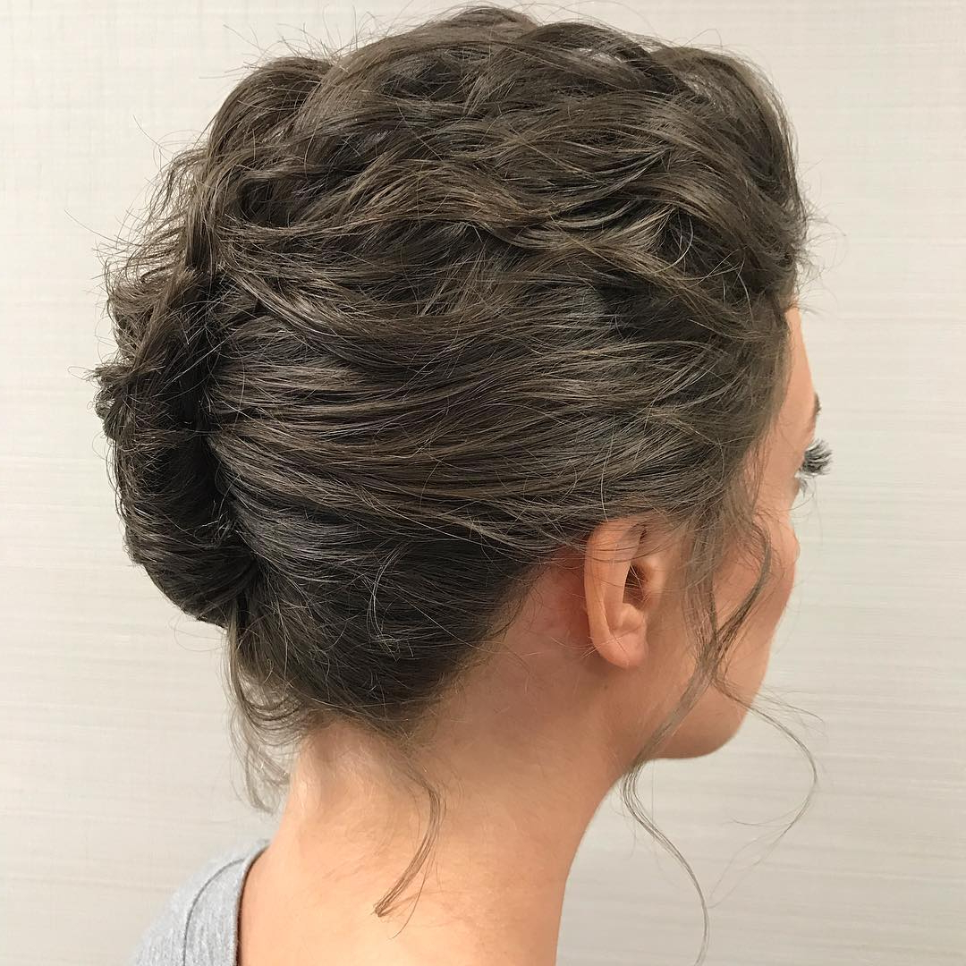 Most Recently Released Wavy Bob Hairstyles With Twists Within Trendy Updos For Short Hair: From Casual To Special Occasions (View 13 of 20)