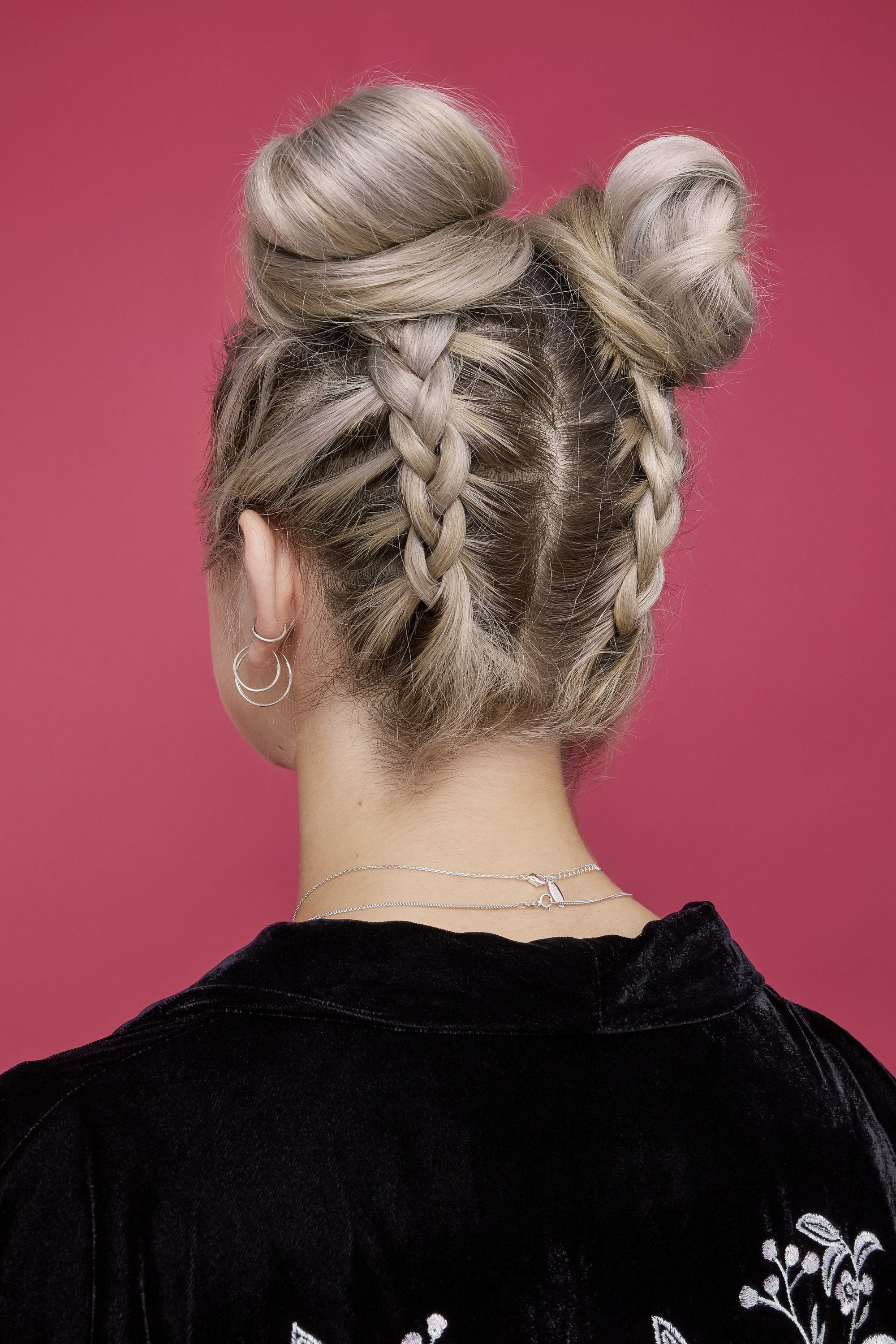 Most Up To Date Braided Space Buns Updo Hairstyles With 13 Easy And On Trend Bun Hairstyles For Every Occasion (View 9 of 20)