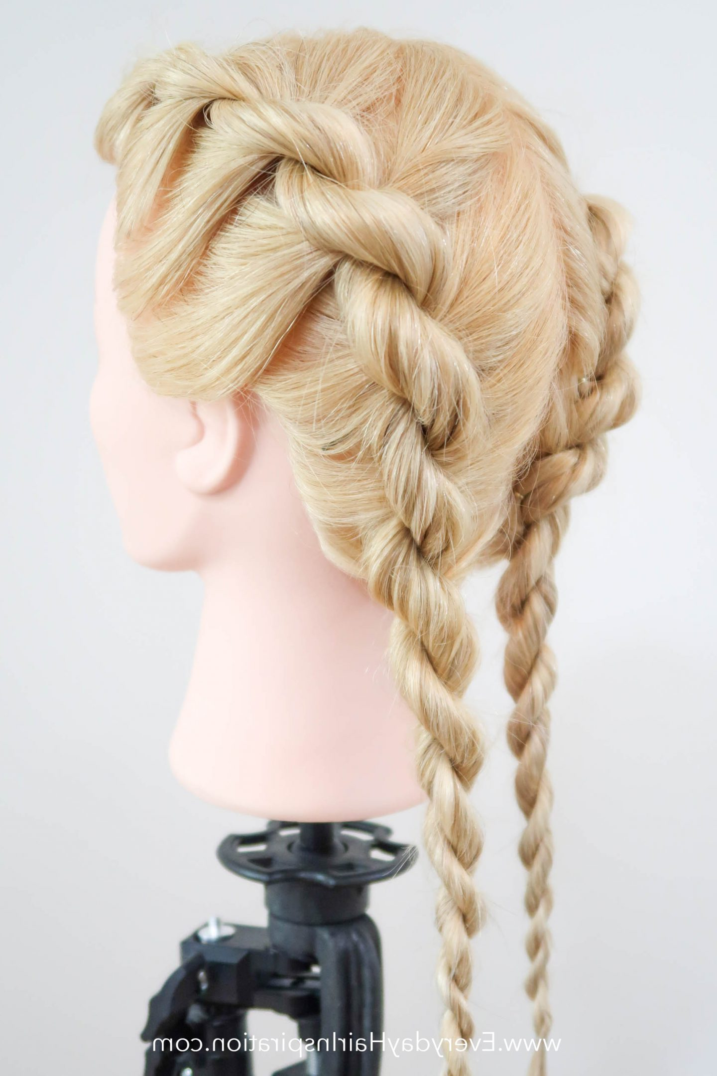 Most Up To Date Easy French Rope Braid Hairstyles For French Rope Braid Stepstep – Everyday Hair Inspiration (View 7 of 20)