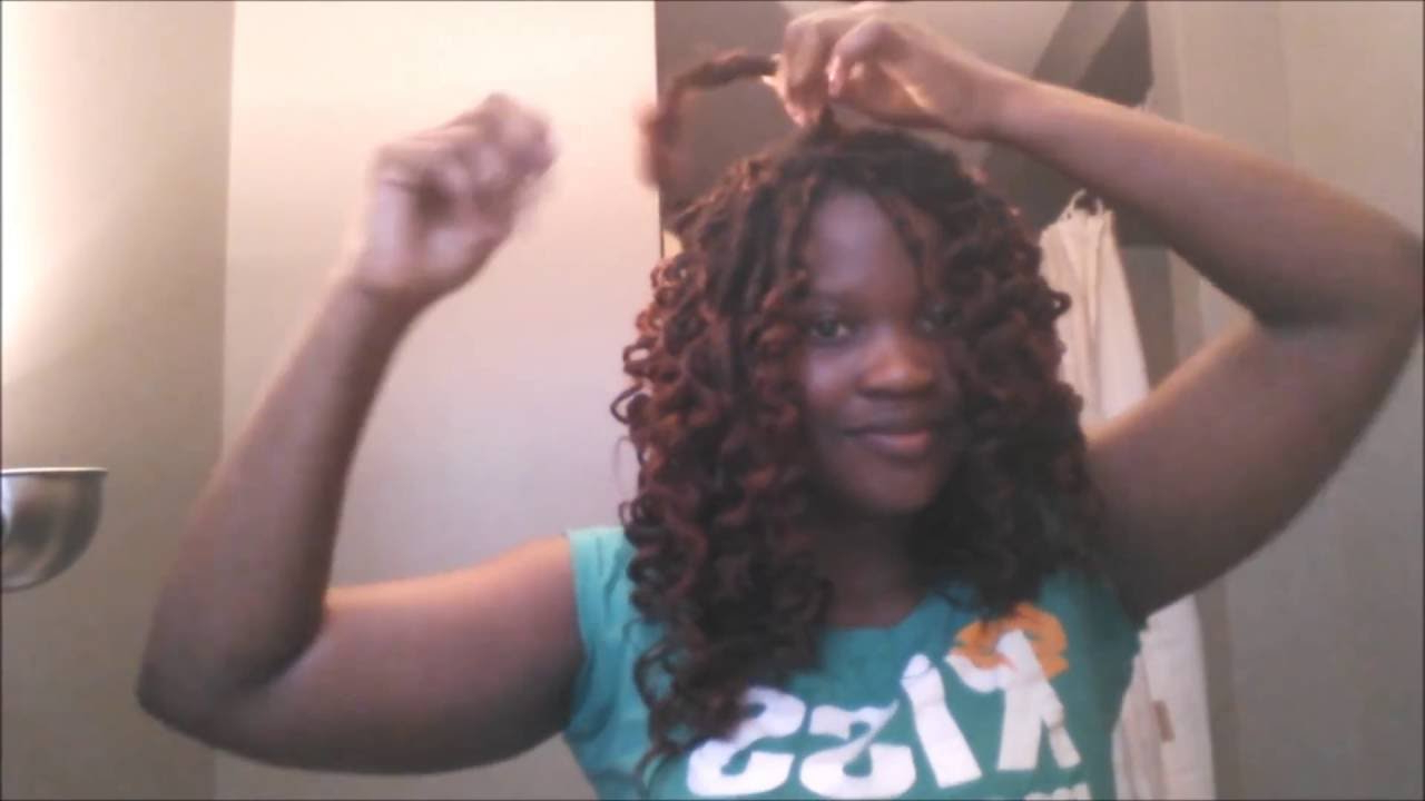 Most Up To Date Micro Braids Into Ringlets With How To: Curl Synthetic Braids (View 17 of 20)