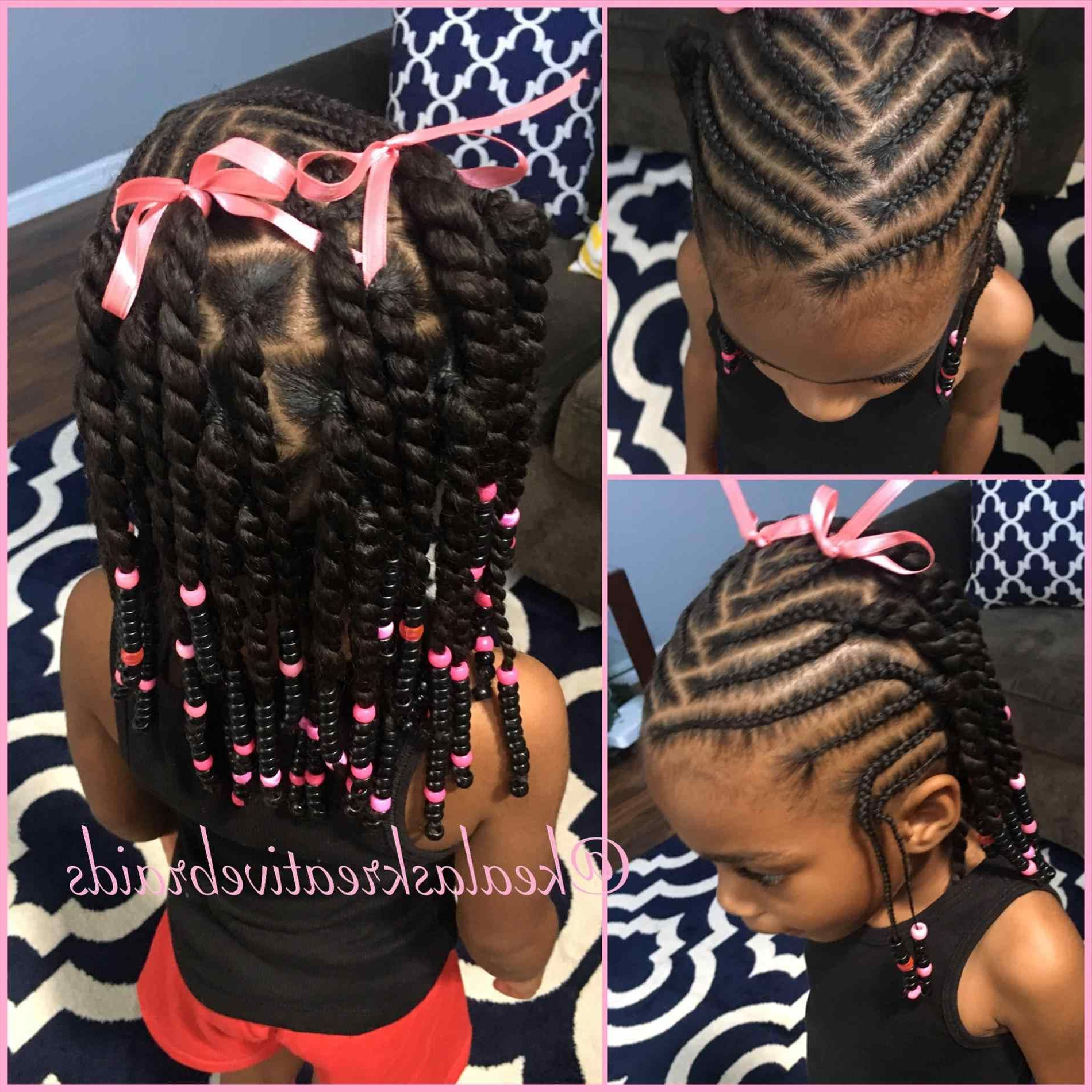 Most Up To Date Mohawk Braided Hairstyles With Beads For Pin On My Baby's Hair (View 14 of 20)