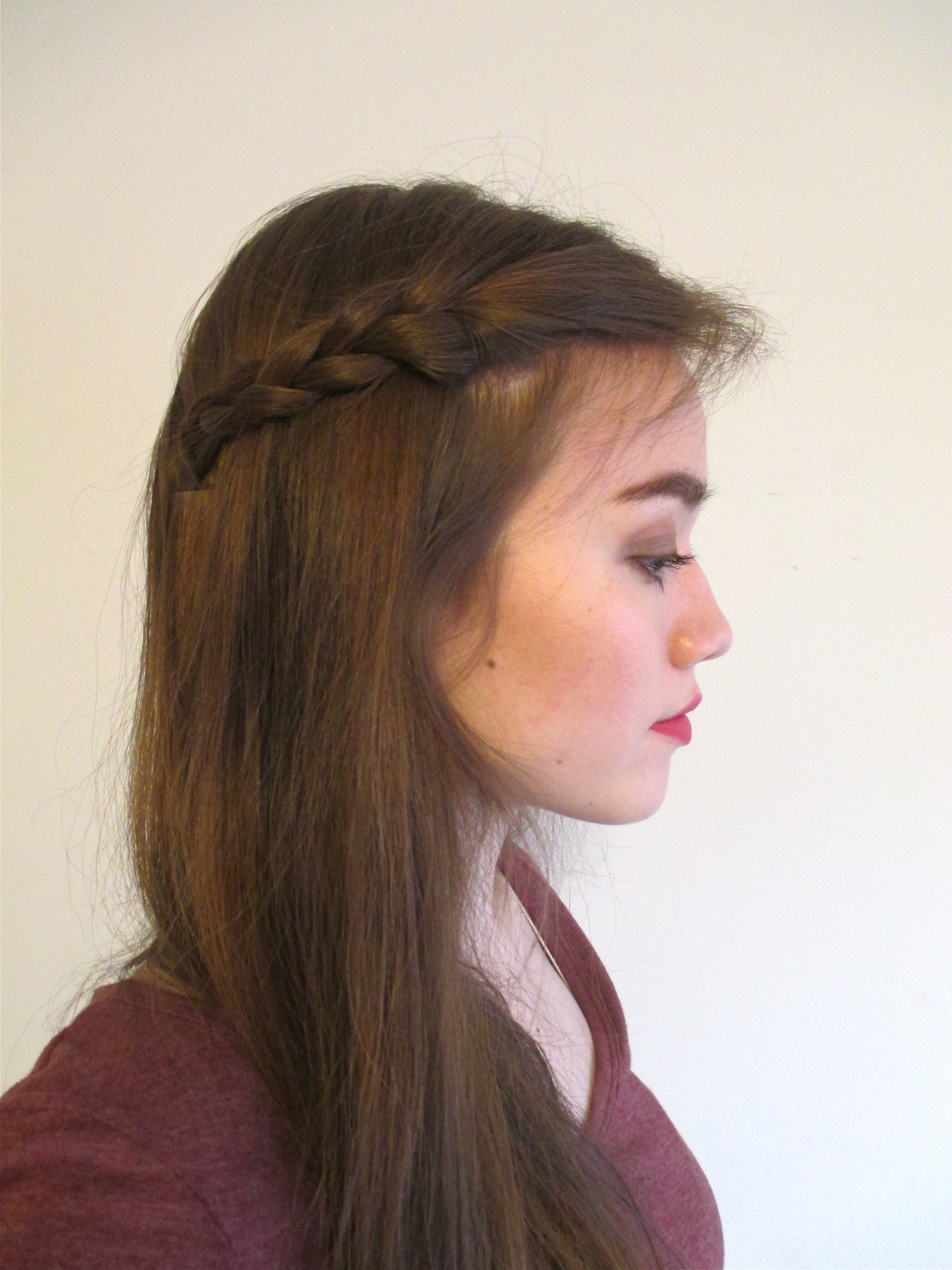 Most Up To Date Pinned Back Side Hairstyles Pertaining To 5 Cute And Easy Bobby Pin Hairstyles Using Fewer Than (View 18 of 20)