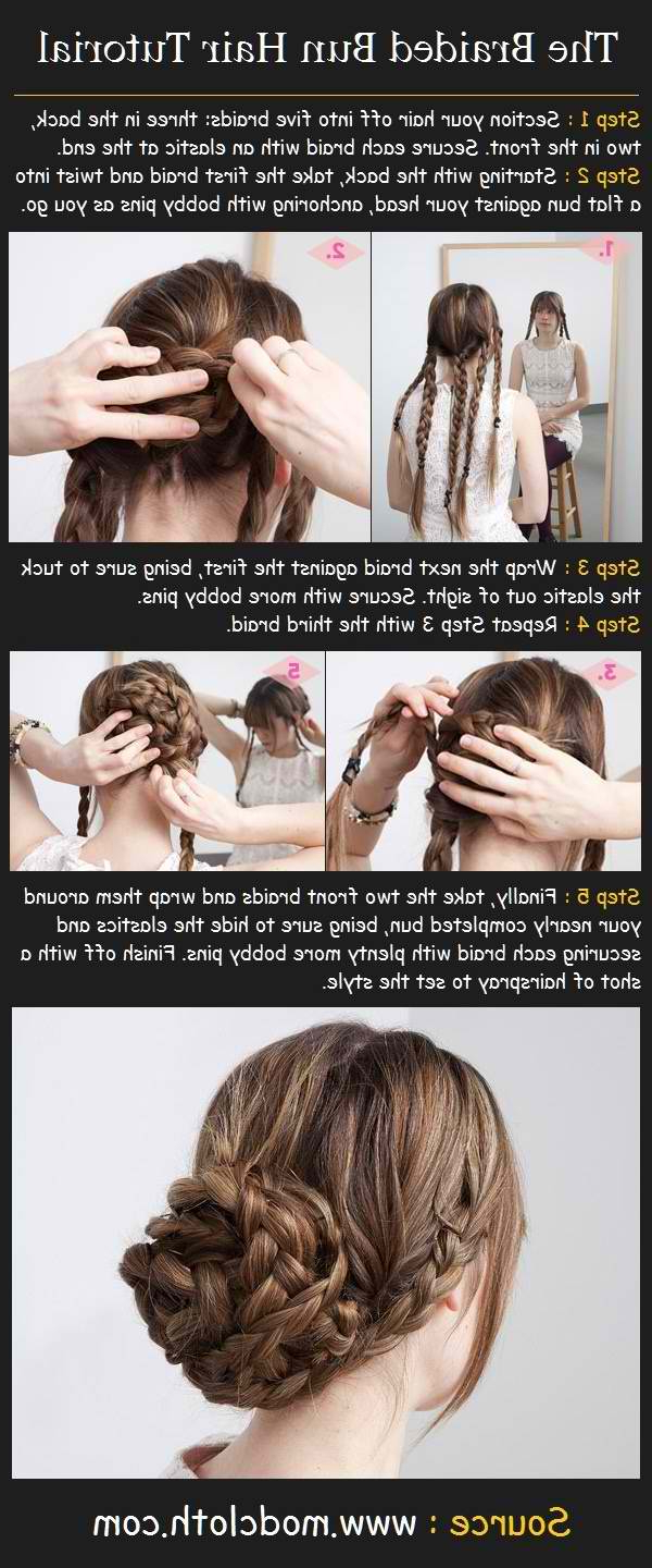Most Up To Date Secured Wrapping Braided Hairstyles Inside The 8 Best Hairstyles For Nursing Clinicals – Nursebuff (View 11 of 20)