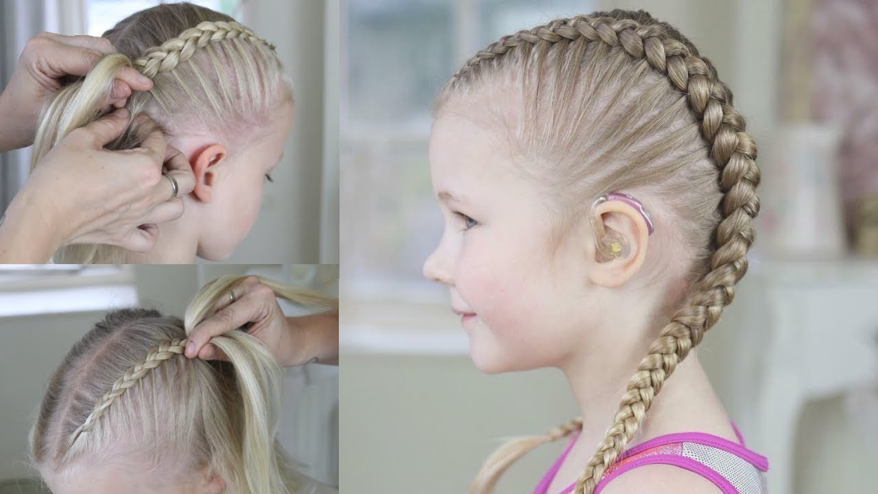 Most Up To Date Tight Braided Hairstyles With Headband Throughout How To Do Tight Braidssweethearts Hair (View 3 of 20)
