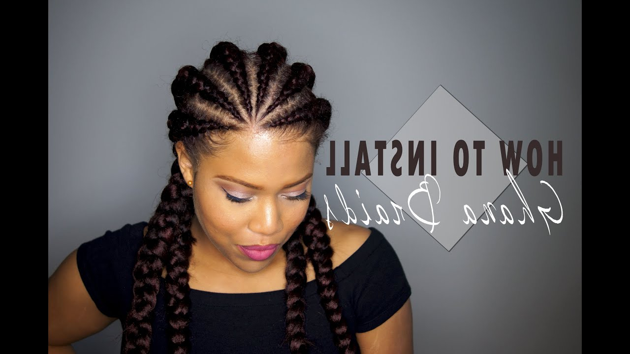 Most Up To Date Whirlpool Braid Hairstyles Within Ghana Braids Hairstyles: History & Pictures Of Ghana Braids (View 4 of 20)