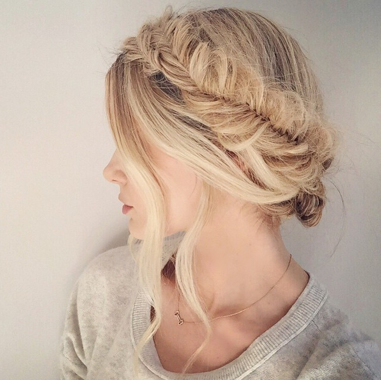 My Summer Staple Hairstyle – Barefoot Blondeamber Within Widely Used Fishtail Crown Braided Hairstyles (View 10 of 20)