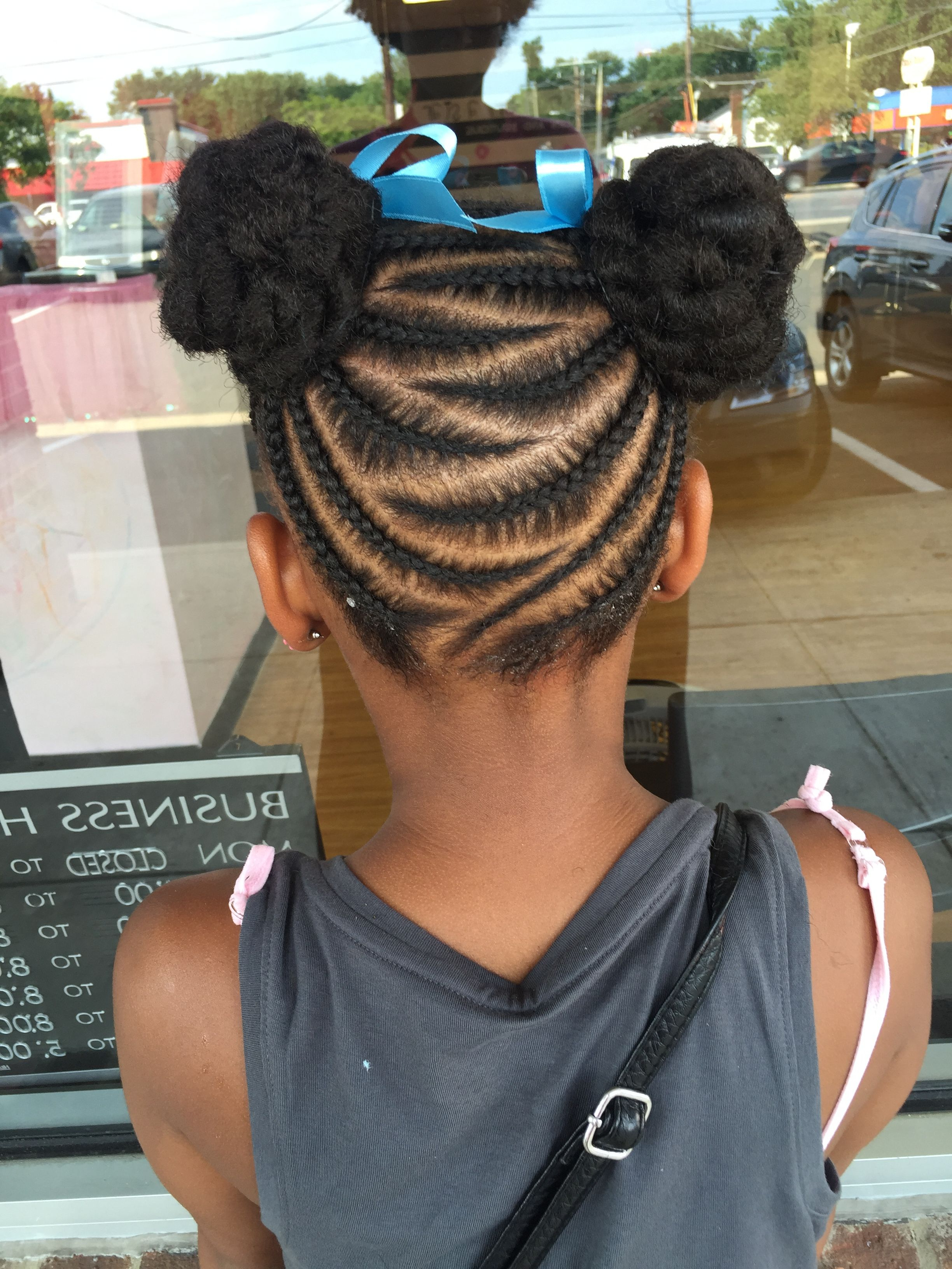 Natural Hair Styles, Hair With Preferred Zig Zag Cornrows Braided Hairstyles (View 12 of 20)