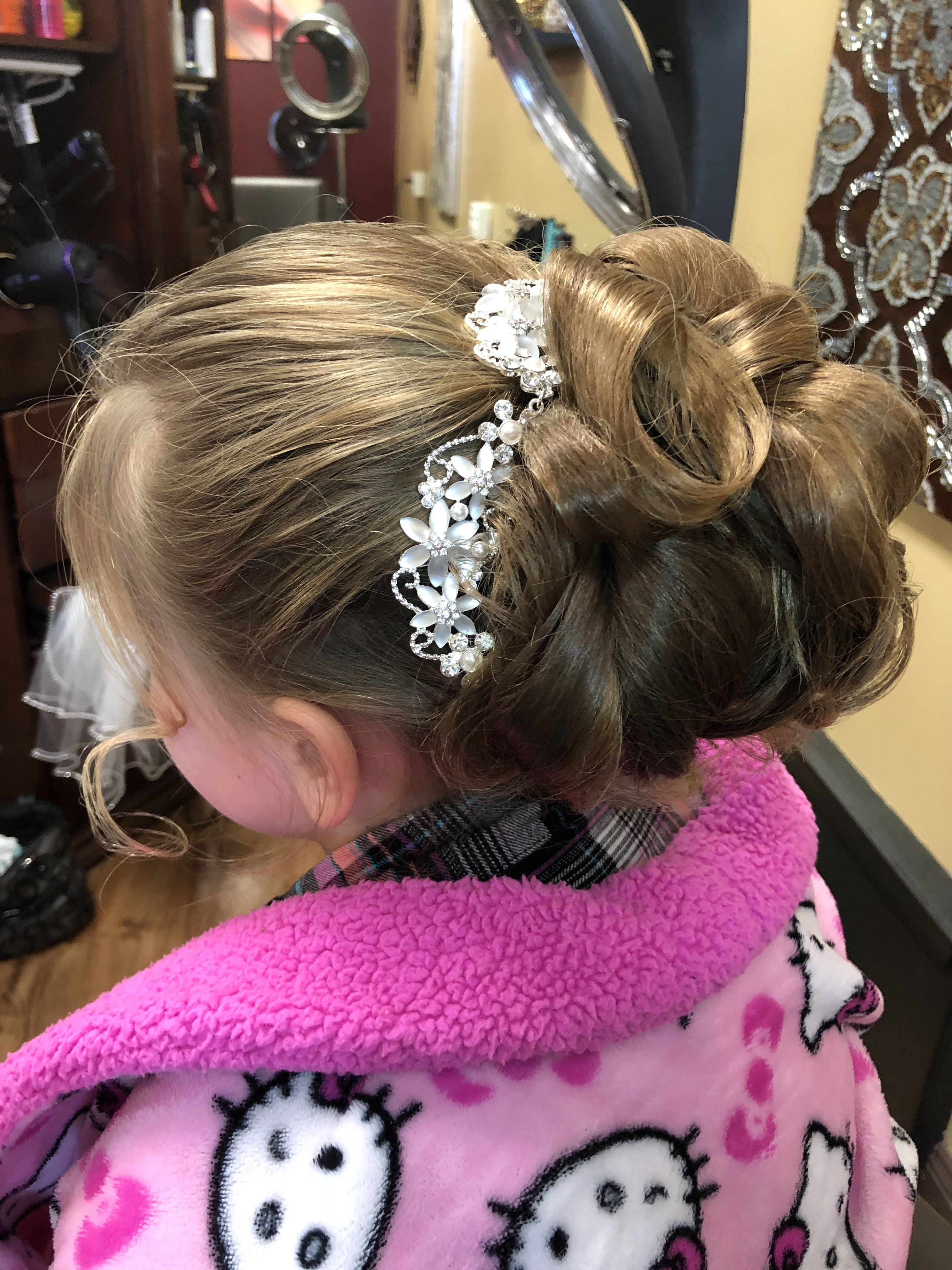 Newest Blinged Out Bun Updo Hairstyles In Wedding Updo (View 16 of 20)