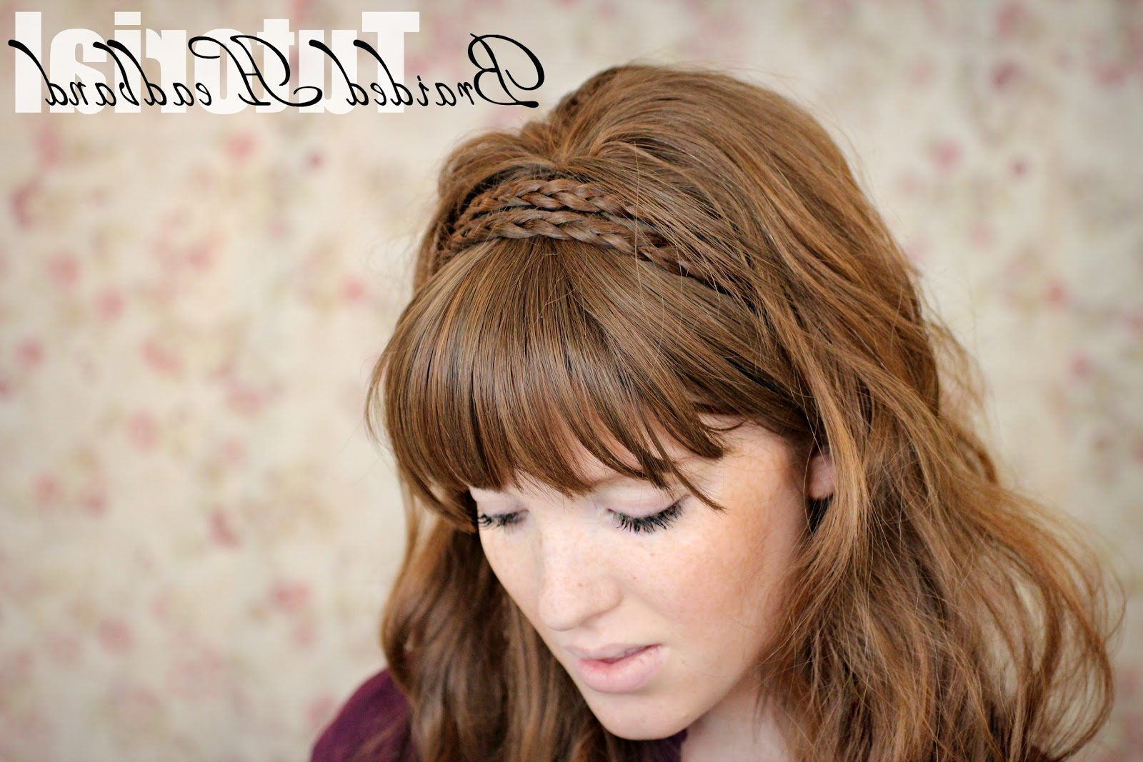 Newest Braid Hairstyles With Headband For The Freckled Fox: Hair Tutorial // Braided Headband (View 16 of 20)