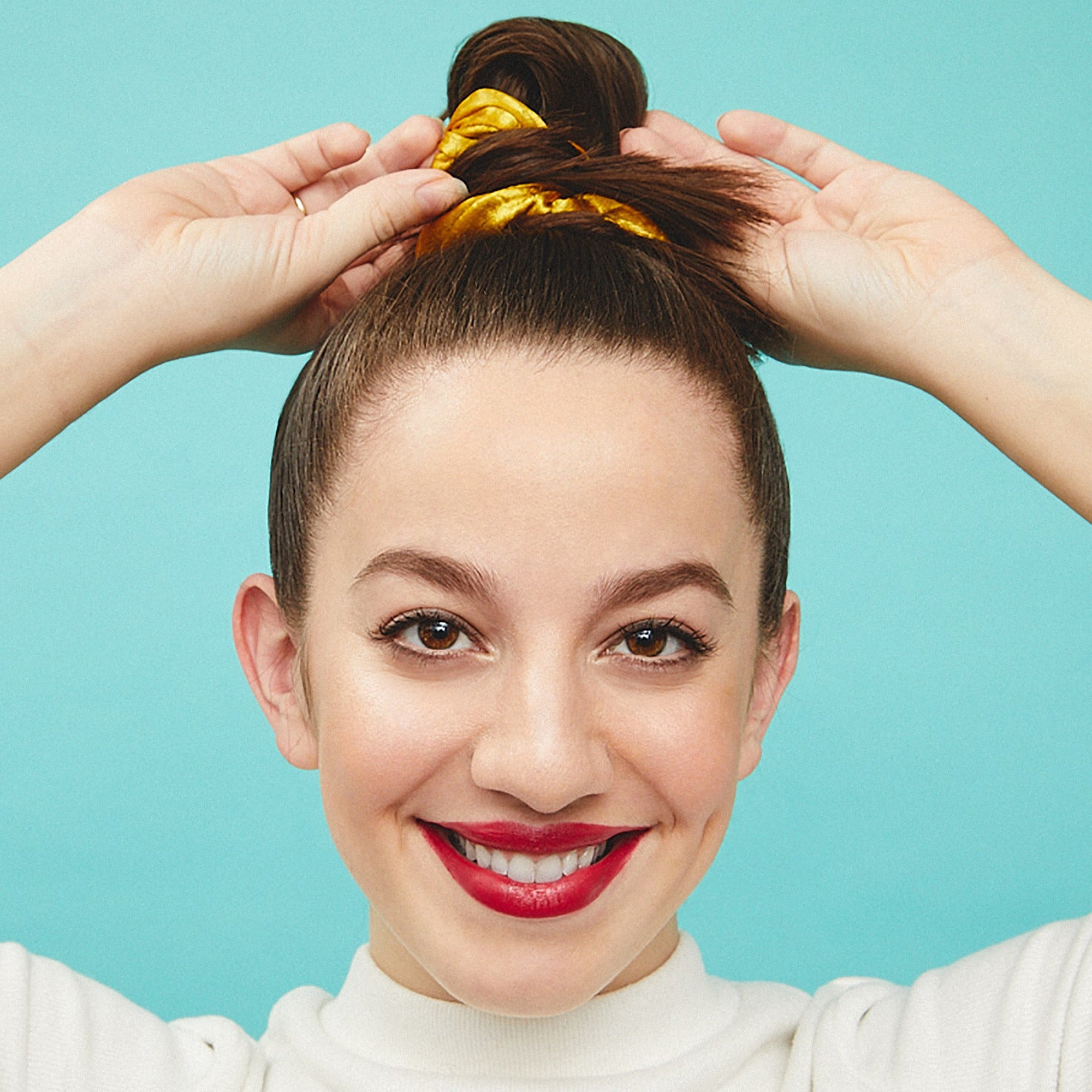 Newest Decorative Topknot Hairstyles Within Look No (View 20 of 20)