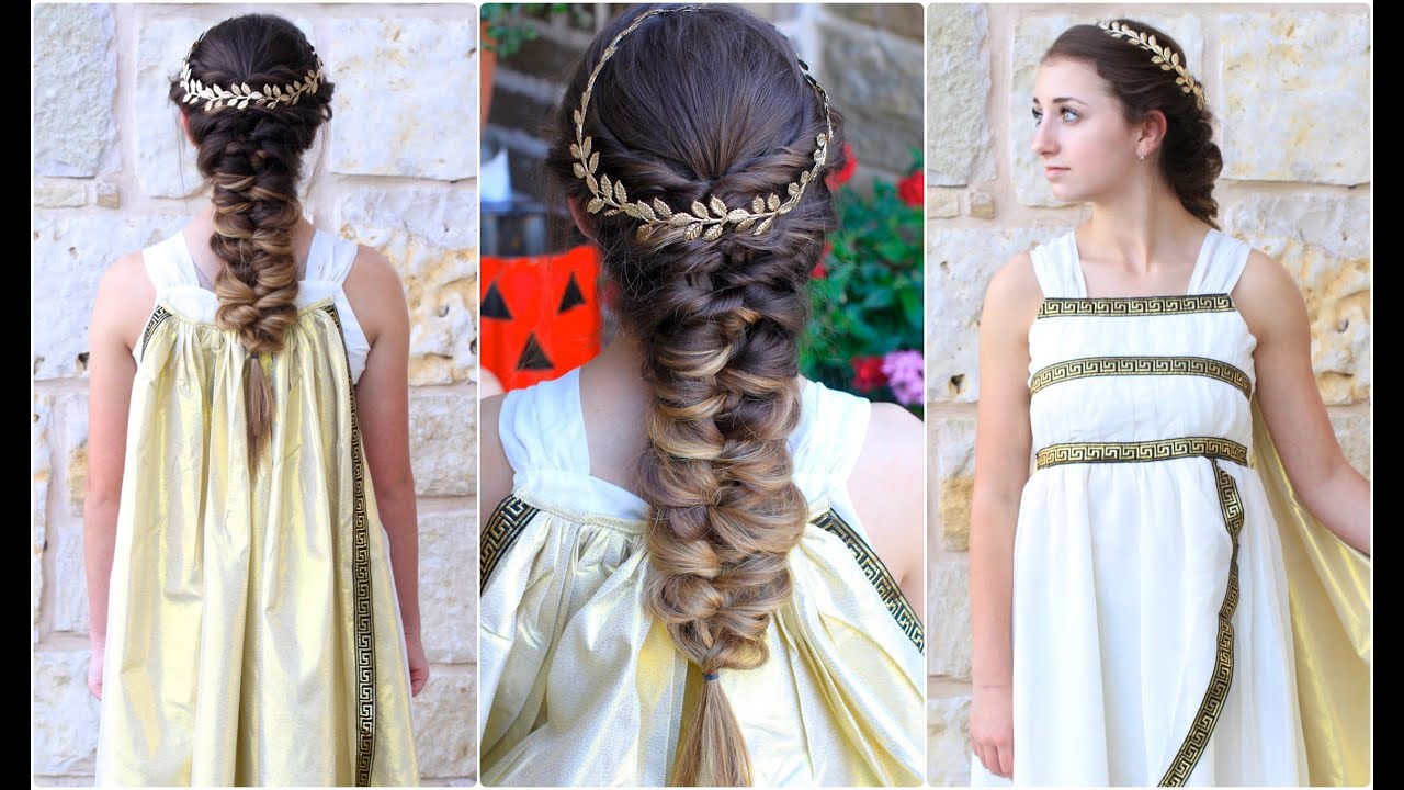 Newest Grecian Inspired Ponytail Braided Hairstyles For Twist Faux Braid (View 5 of 20)
