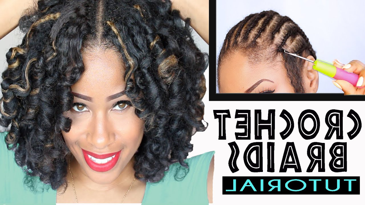 Newest Highlighted Invisible Braids With Undone Ends Pertaining To Crochet Braids And Twists: Step By Step Styling Guide For (View 13 of 20)