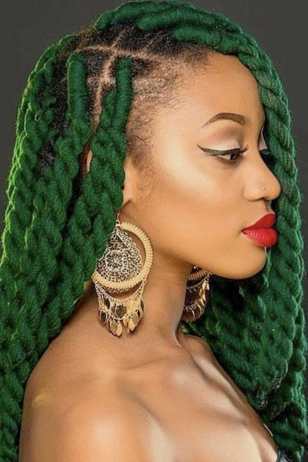 Newest Jumbo Twists Yarn Braid Hairstyles With Regard To Protective Styles 101: Beautiful Yarn Twists And Locs To (View 13 of 20)