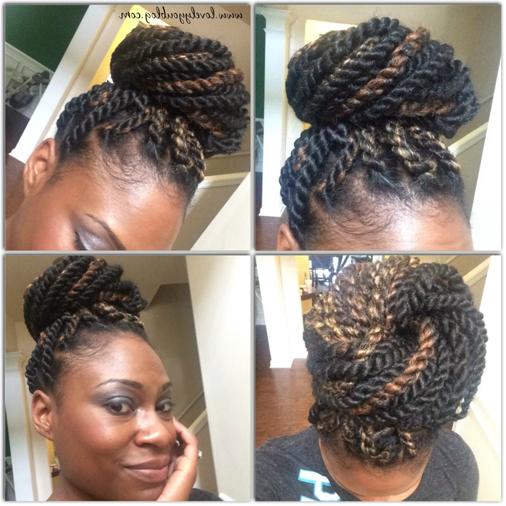 Newest Long Twists Invisible Braids With Highlights Within Senegalese Invisible Root Twist – Lovely You Blog (View 3 of 20)