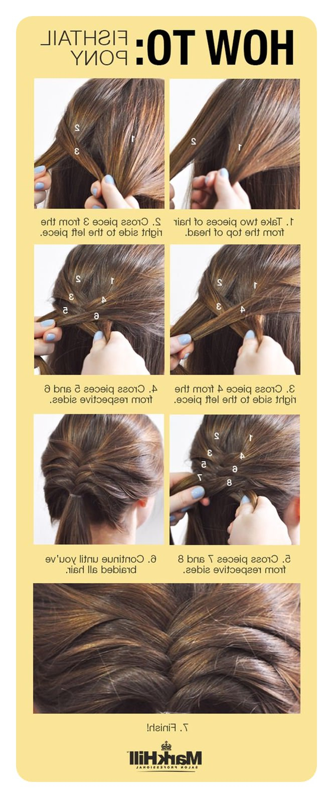 Newest Ponytail Fishtail Braided Hairstyles In 104 Fishtail Braids Hairstyles That Turn Heads (View 16 of 20)