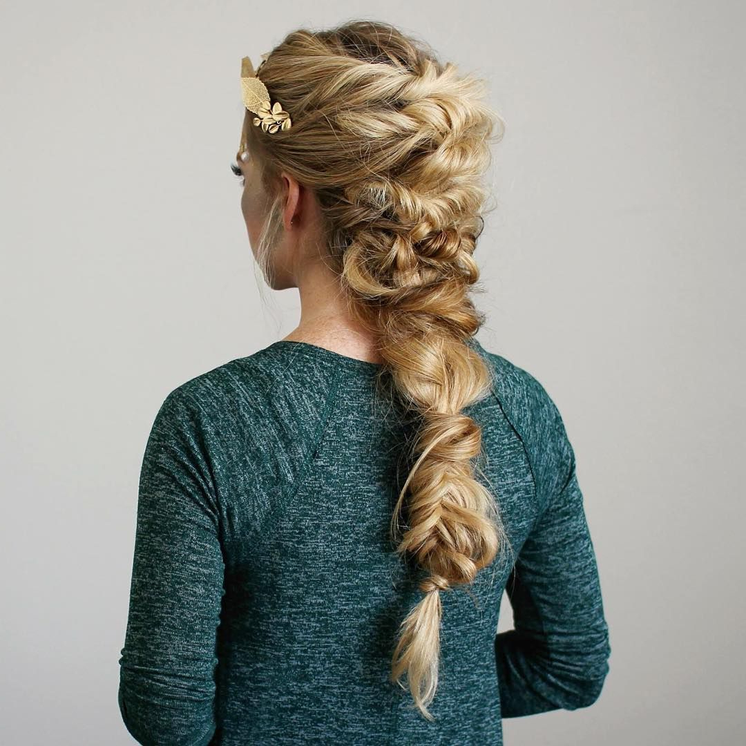 Newest Twisted Mermaid Braid Hairstyles With Twisted Mermaid Braid – Love A Big Braid! ~ We ❤ This (View 7 of 20)