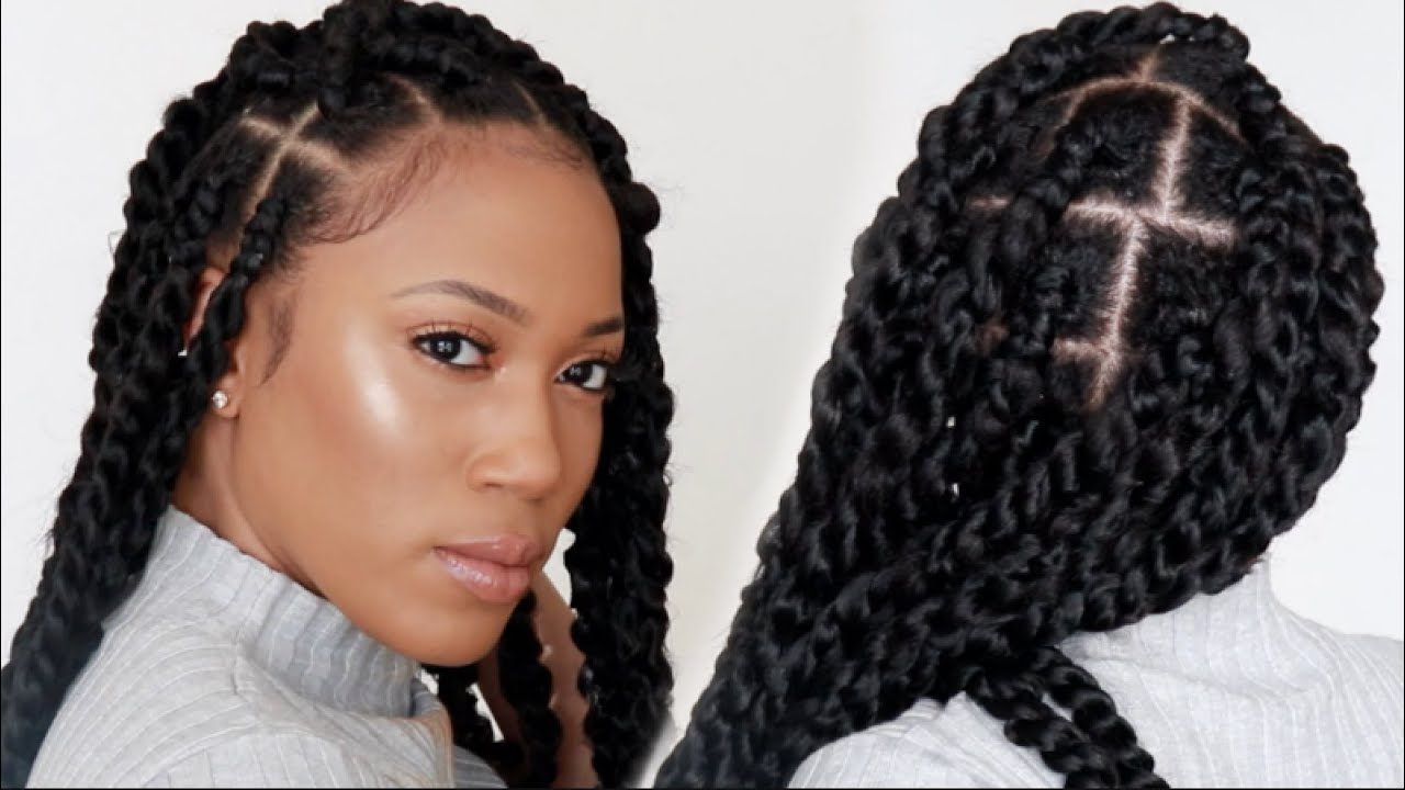 Passion Twist Detailed And Beginner Friendly With Regard To Best And Newest Long Twists Invisible Braids With Highlights (Gallery 12 of 20)