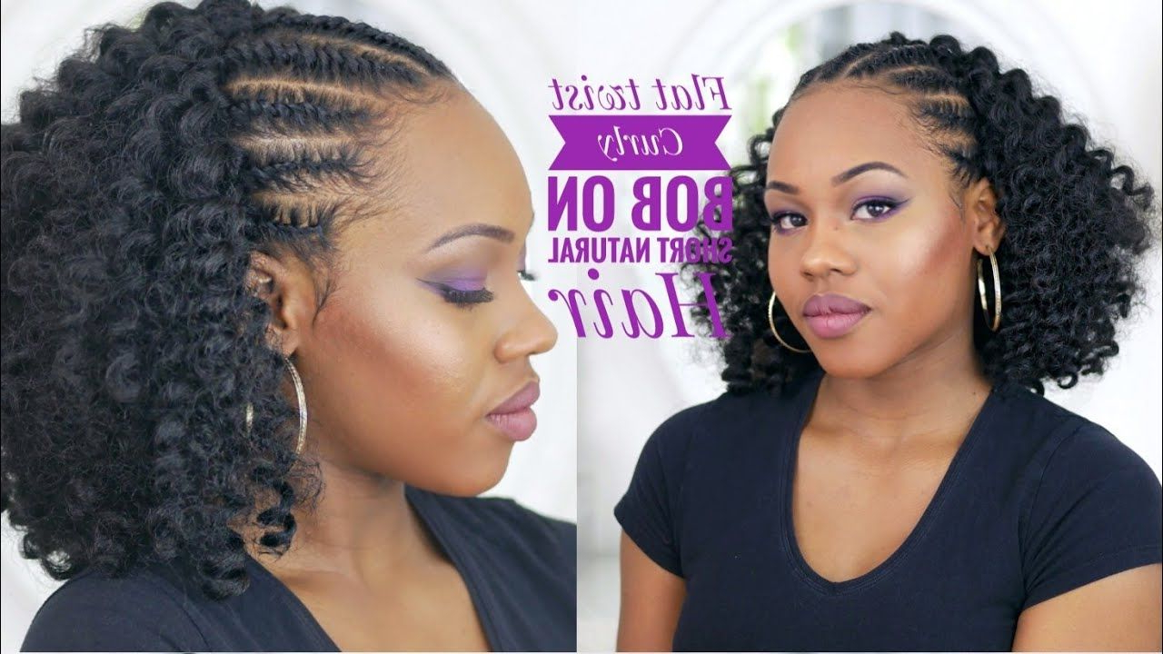 Pin On Hair Regarding Most Current Wavy Bob Hairstyles With Twists (View 1 of 20)