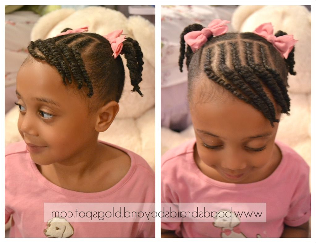 Pin On Hairstyles For Lily Within Newest Beaded Pigtails Braided Hairstyles (Gallery 15 of 20)