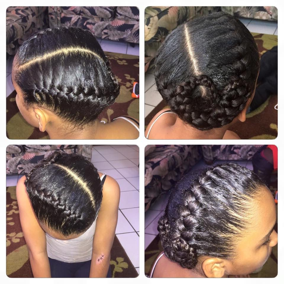 Pin On My Hair Styles Pertaining To Well Known Tight Black Swirling Under Braid Hairstyles (View 5 of 20)