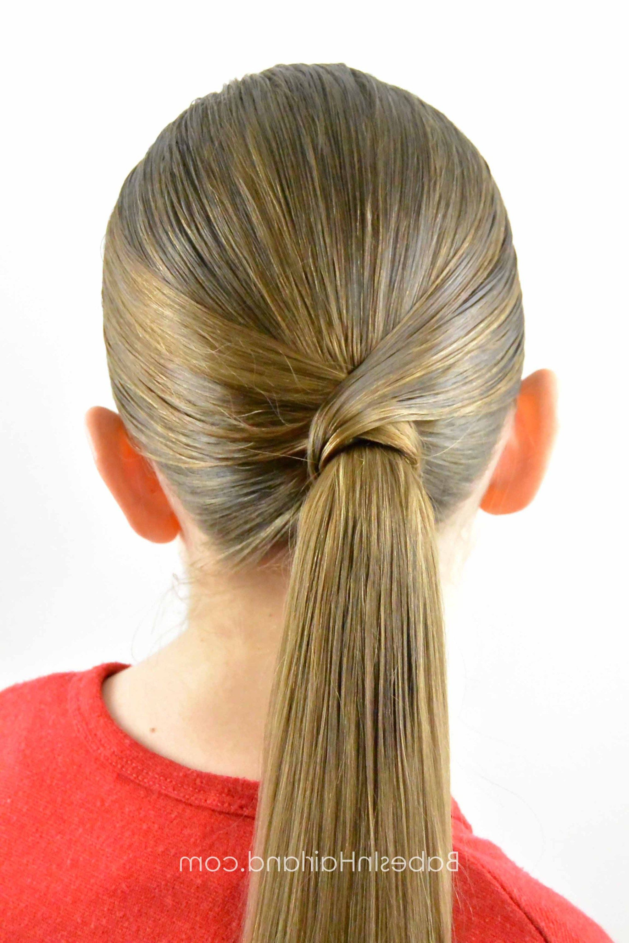 Ponytail Hairstyles, Hair Styles For Most Popular Wrapped Ponytail Hairstyles (View 12 of 20)