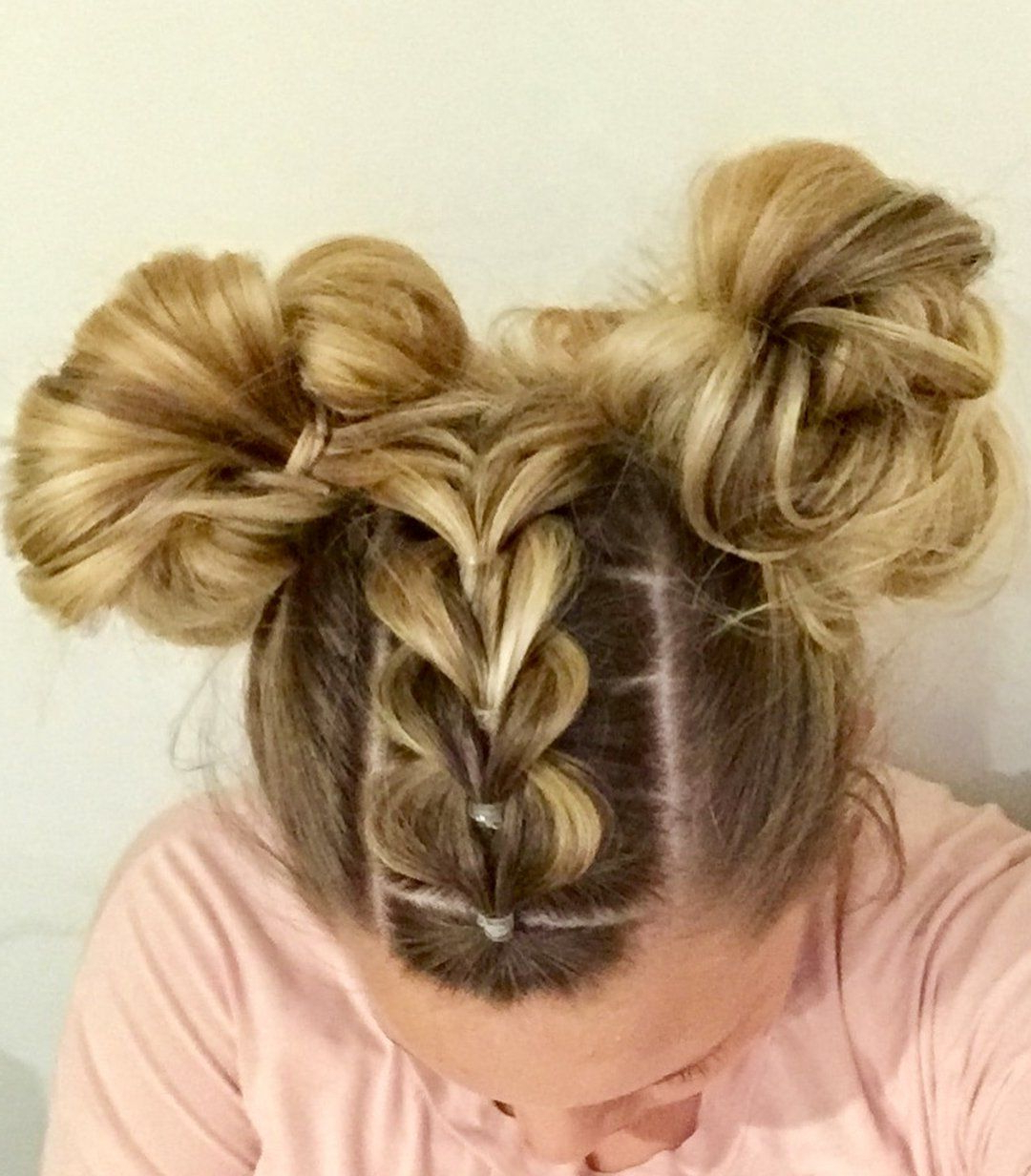 Ponytails Regarding 2019 Pull Through Ponytail Updo Hairstyles (Gallery 5 of 20)
