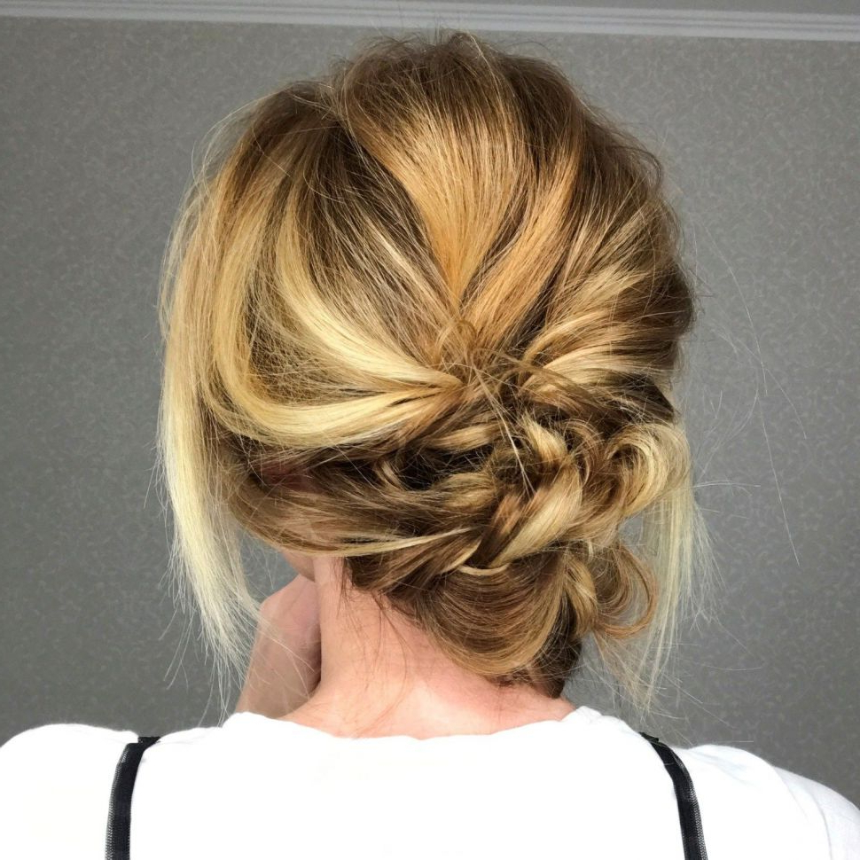 Popular Braided Chignon Hairstyles In Hairstyles : Chic Braided Chignon Intriguing Master These 4 (Gallery 9 of 20)