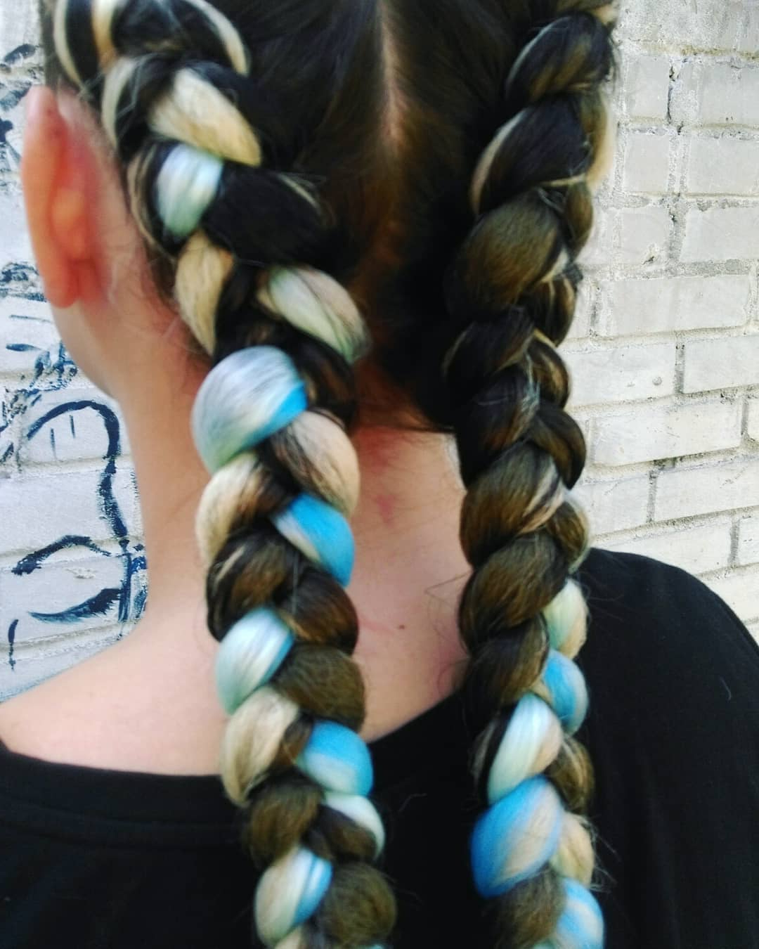 Popular Braided Hairstyles With Beads And Wraps With Regard To 99 Two Braids And You've Got It Made (View 17 of 20)
