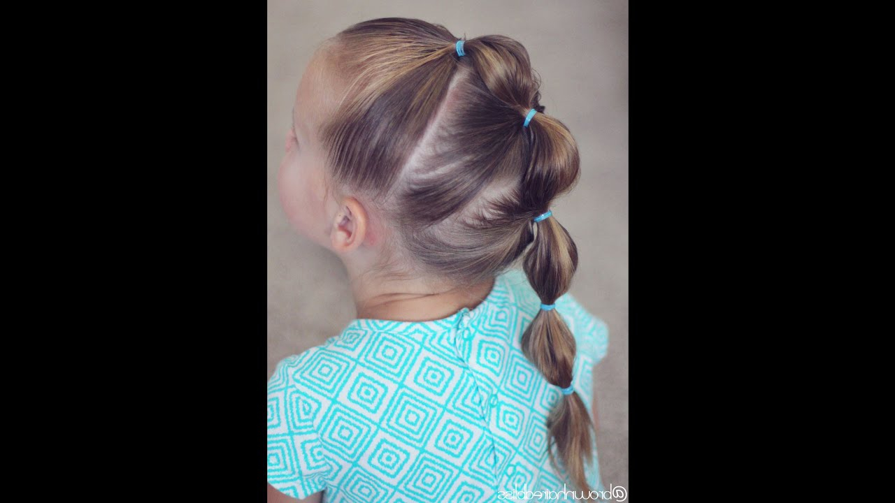 Popular Bubble Braid Updo Hairstyles Intended For How To: Bubble Braid Mohawk Tutorial (View 15 of 20)