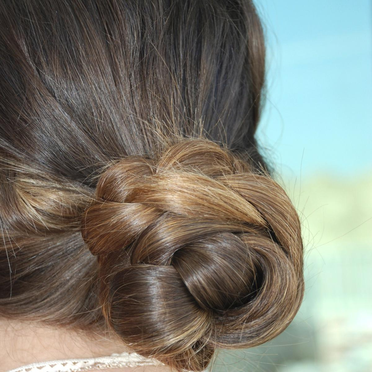 Popular Funky Sock Bun Micro Braid Hairstyles With Amazingly Elegant Hair Bun Styles That'll Make You Look Your (View 7 of 20)