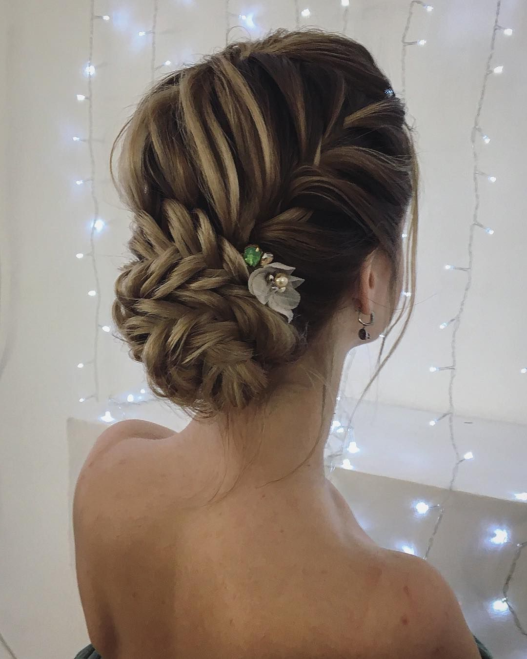 Popular High Bun Hairstyles With Braid For Unique Updo Hairstyle , High Bun Hairstyle ,prom Hairstyles (View 18 of 20)